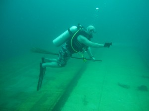 Harry Potter Moment - Wreck Diving Magic