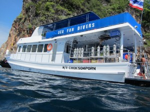 Diving Phuket, Thailand with MV Seafun
