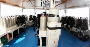 MV Kepsub - Dive Deck