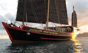 June lee Hong Sailing Junk - Thailand Liveaboards