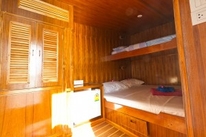 MV Giamani Deluxe Cabin