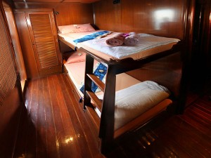 MV Hallelujah -Standard Twin Bed Cabin