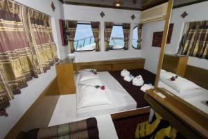 MV Pawara Master cabin