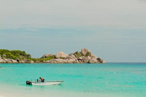 Princess Bay at Similan Islands National Park
