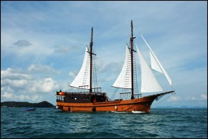 SY Diva Andaman - A Thailand Liveaboard Under Sails