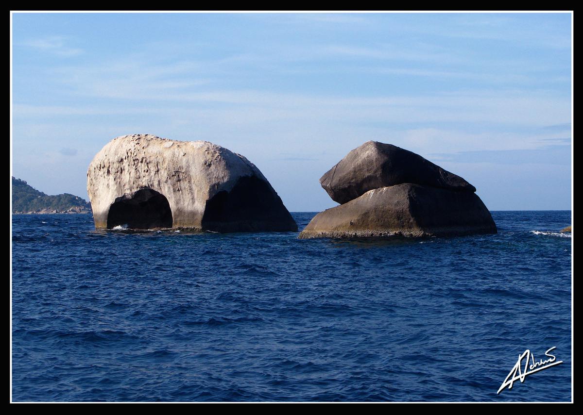 Elephant Head Rock – Isole Similan