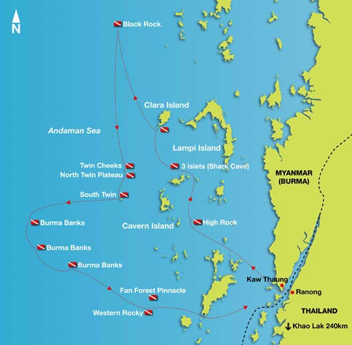Burma Dive Sites